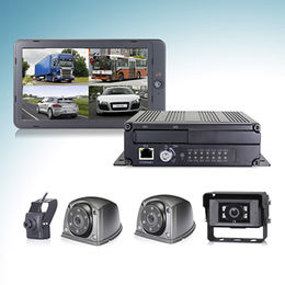 4CH HD Car Mobile DVR with 1080P Camera, support 3G/4G/WIFI/GPS tracking and infrared remote control from STONKAM CO.,LTD