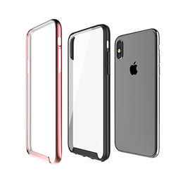 Plastic case for iPhone X, dual layer of anti-scratch hybrid case and poly-carbonate PC frame from Beelan Enterprise Co. Ltd