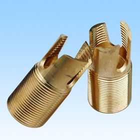 CNC Turning Parts, Made of Brass, Precision Turning Parts, OEM is Welcome from HLC Metal Parts Ltd