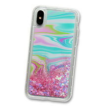 Trance Liquid TPU Mobile Phone Case, Acrylic Painting Shiny Back Cover for iPhone X/8/7 from Guangzhou Kymeng Electronic Technology Co., Ltd