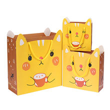 China Paper Gift Bag, Customized Colors/Logos/Sizes are Accepted, Durable