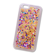 Liquid Lucency TPU Shiny Mobile Phone Case, Transparency Acrylic Shiny Back Cover for iPhone X/8/7 from Guangzhou Kymeng Electronic Technology Co., Ltd