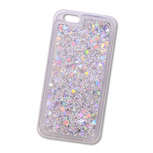 Liquid Lucency TPU Bling Mobile Phone Case,Transparency Acrylic Shiny Back Cover for iPhone X/8/7 from Guangzhou Kymeng Electronic Technology Co., Ltd