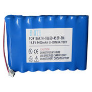 Lithium-ion Battery Pack, 4400mAh from Shenzhen BAK Technology Co. Ltd