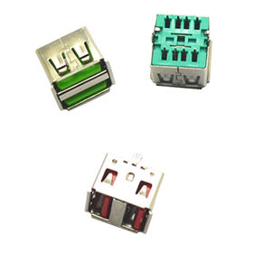 Double USB female 2.0 connector