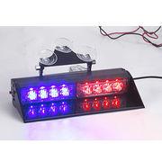 China UnionTech 2 set 4-piece 1W LED dual color sucked type flash warning dash light