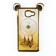 China Quicksand plated phone case