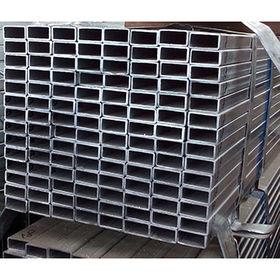 China Galvanized square steel tube