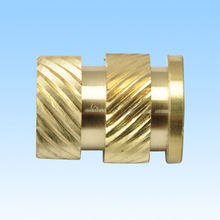 CNC machined part, made of copper, customized designs are welcome from HLC Metal Parts Ltd