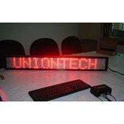 China UnionTech English Programmable Displayer, LED Message Board