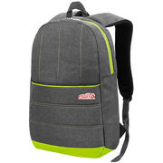 China Good workmanship polyester laptop backpack, made out of cushioned fabric material, OEM are accepted