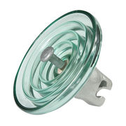 China DC type glass insulator for high & extra-high voltage transmission line