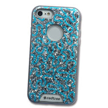 Snakelike Shiny Leather Cell Phone Case, 2-in-1 Shiny Lucency TPU+PC Back Cover for iPhone from Guangzhou Kymeng Electronic Technology Co., Ltd
