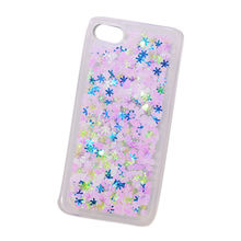 Liquid Lucency TPU Shiny Mobile Phone Case/Transparency Acrylic Shiny Back Cover for iPhone from Guangzhou Kymeng Electronic Technology Co., Ltd
