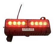 China UnionTech 12V Red/Blue LED Emergency Visor Light for Car Sun Shield