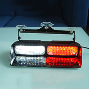 China UnionTech 2 set 1W 4 pieces linear LED dual color sucked type flash warning dash light