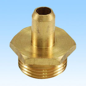 CNC Machining/Turning Part Manufacturer, Made of Brass Material, Customized Designs are Welcome from HLC Metal Parts Ltd