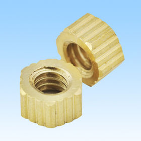 Nut, Made of Brass, Nuts Manufacturer from HLC Metal Parts Ltd