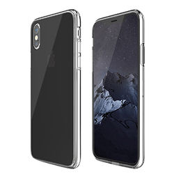 Ultra-slim Scratch-resistant Clear Case with Clear Back Panel, for iPhone X from Beelan Enterprise Co. Ltd