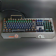 Infrared optical mechanical switch wired keyboard