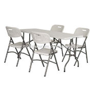 Plastic Foldable Blow Molding Chair and Table Set