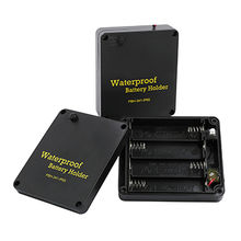 Waterproof Battery Holder with Wire, IP65, for AA Type Battery from Comfortable Electronic