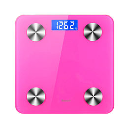 China Digital Weight Scale Bluetooth Smart Wireless Body Fat Scale with Free iOS and Android App
