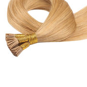 Factory Wholesale Real Remy Hair Pre Bonded I Tip Straight Blond Extensions 1g