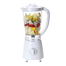 Table blender with 4 settings, stainless steel blade base, plastic jar 1.25L/350W from Hong King Group Ltd