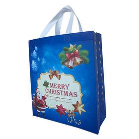 China Christmas Large Gift Bags, Holiday Gift Tote Bags Reusable Material For Christmas Presents