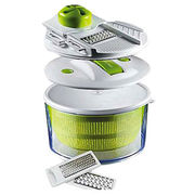 China 4-in-1 salad spinner mandoline slicers
