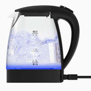 China Electric Glass Kettle with LED Indicator Ring