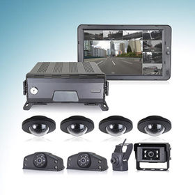 China 1080P H.264 Digital Video Recorder System with 3G/4G/WIFI/GPS tracking technology