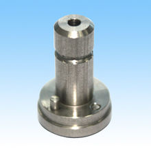 CNC Machining Part, Made of Stainless Steel, Processed by Turning and Punching, RoHS-certified from HLC Metal Parts Ltd