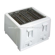 Four Slices Toaster with Mid Cycle Cancel Function and Slide Out Crumb Tray from Ningbo Yangfar Industry Co.ltd