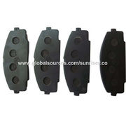 China Brake Pad for Toyota Hiace