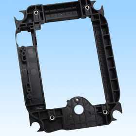 Designed plastic parts, used in blue-ray movement holder, customized designs are available from HLC Metal Parts Ltd