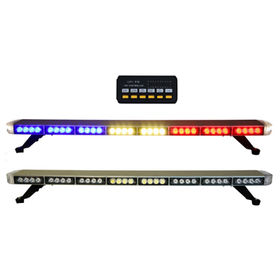 Taiwan led lights bar from kaohsiung trading company busybees redbluewhite police emergency led lights bar 12 24v tow aloadofball Choice Image