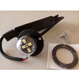 Hide-away LED Light, Grill Light, 4-piece LED/Amber/Green/Red/Blue/White LED/12-24V/IP67 from Busybees Technology Ltd.