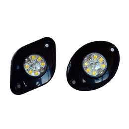 Hide-away LED Light/Grill Light, 8-piece LED, Amber/Green/Red/Blue/White LED, 12-24V, IP67 from Busybees Technology Ltd.