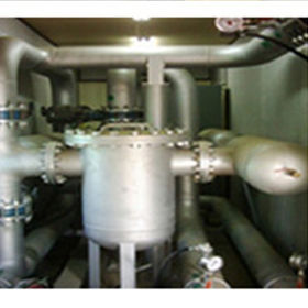 Soil odor removal equipment KEITI (Korea Environmental Industry & Technology Institute)