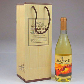 China Wine Gift Bag, Customized Colors/Logos/Sizes are Accepted, Durable