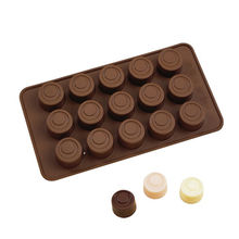 China Silicone Round Chocolate Mold Candy Molds Ice