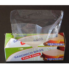 China Plastic Sandwich Bag