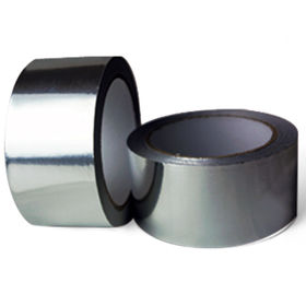 China Water-based Acrylic Adhesive Aluminum Foil Tape 40 Microns