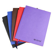 High grade PU notebook, Customised size,colors and design are accepted from Beijing Leter Stationery Manufacturing Co.Ltd