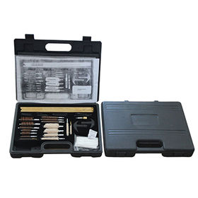 China Rifle & Shot Gun Cleaning Kit with Aluminum Carrying Case