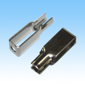 Stamping Parts, Made of C5191, Nickel-plated Finishing, Customized Designs are Welcome from HLC Metal Parts Ltd