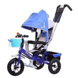 Children's Tricycle with kettle, Reflector, stronger frame, with cartoon bells. from Hebei IKIA Industry & Trade Co. Ltd