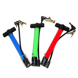 China Bicycle pump, mini bike pump, steel colorful outer pipe, easy to carry